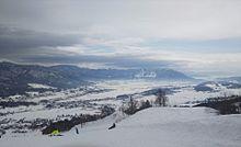 写真はこれだよ!スキー場から撮ったんだ!の画像(スキー場に関連した画像)