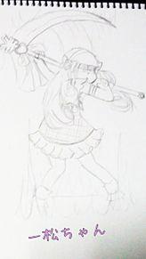 魔法少女おそ松ちゃん(一松ちゃん)の画像(魔法少女おそ松ちゃんに関連した画像)