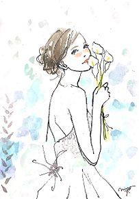 土屋みよの画像(ウェディングドレス イラストに関連した画像)
