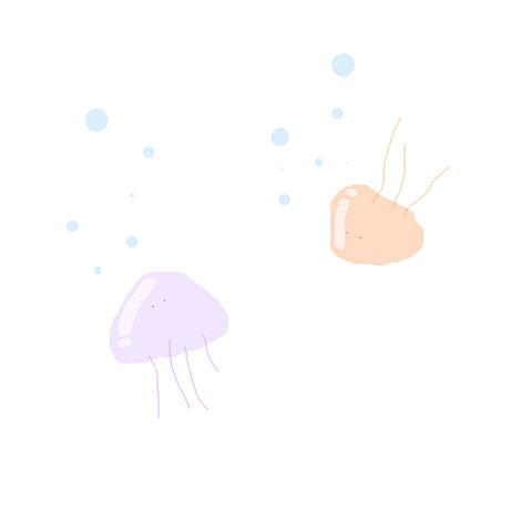 クラゲの画像 プリ画像