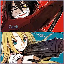 殺戮の天使Zack&Rayの画像(Zackに関連した画像)