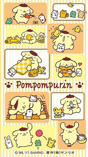 ポムポムプリン 壁紙の画像(プリ画像)