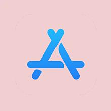 appstore アプリアイコン 保存はいいねの画像(アプリアイコンに関連した画像)