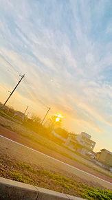 夕焼けの画像(夕焼けに関連した画像)