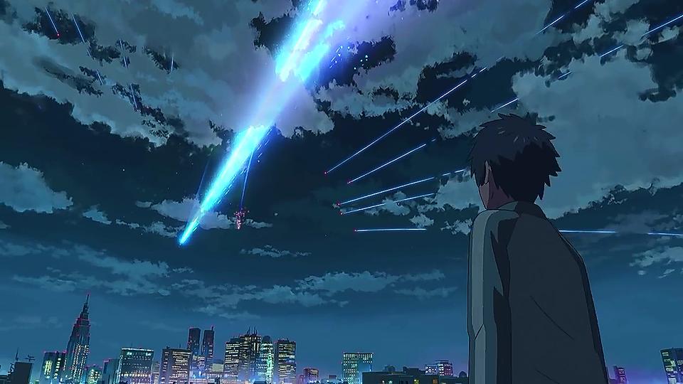 新海誠の君の名は。彗星の壁紙