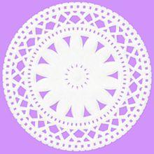 紫 花レースの画像(プリ画像)