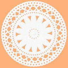 オレンジ 花レースの画像(プリ画像)