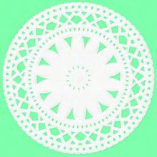 緑 花レースの画像(プリ画像)