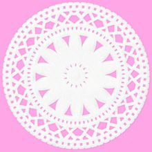ピンク 花レースの画像(プリ画像)