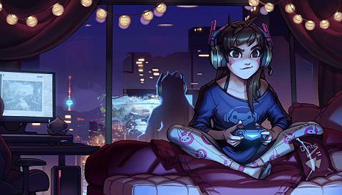 ゲーム女子の画像 プリ画像