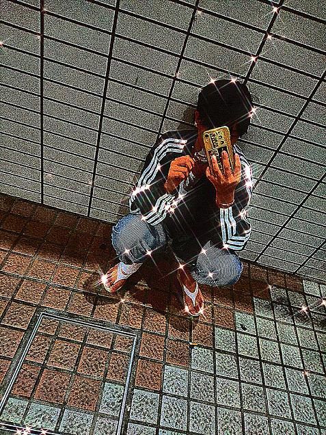 ヤンキー風ショットの画像 プリ画像