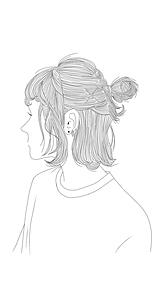 イラスト 女の子 後ろ姿の画像357点完全無料画像検索のプリ画像bygmo