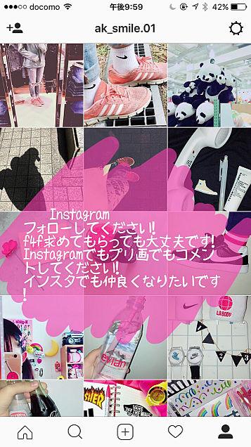 Instagramフォローしてください!の画像(プリ画像)