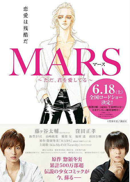 MARS 映画化決定