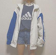 アディダス スポーツ スポーティー 服 ロゴの画像(恋/好き/ポエム/片思いに関連した画像)
