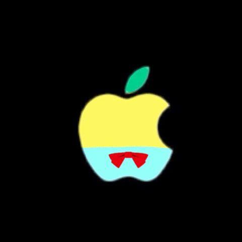 キャラクターAppleマークの画像(プリ画像)