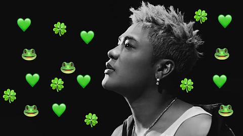 ELLY イメージカラー 緑💚の画像(プリ画像)