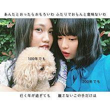 MK-twinty│井上苑子│田中芽衣│☁の画像(プリ画像)