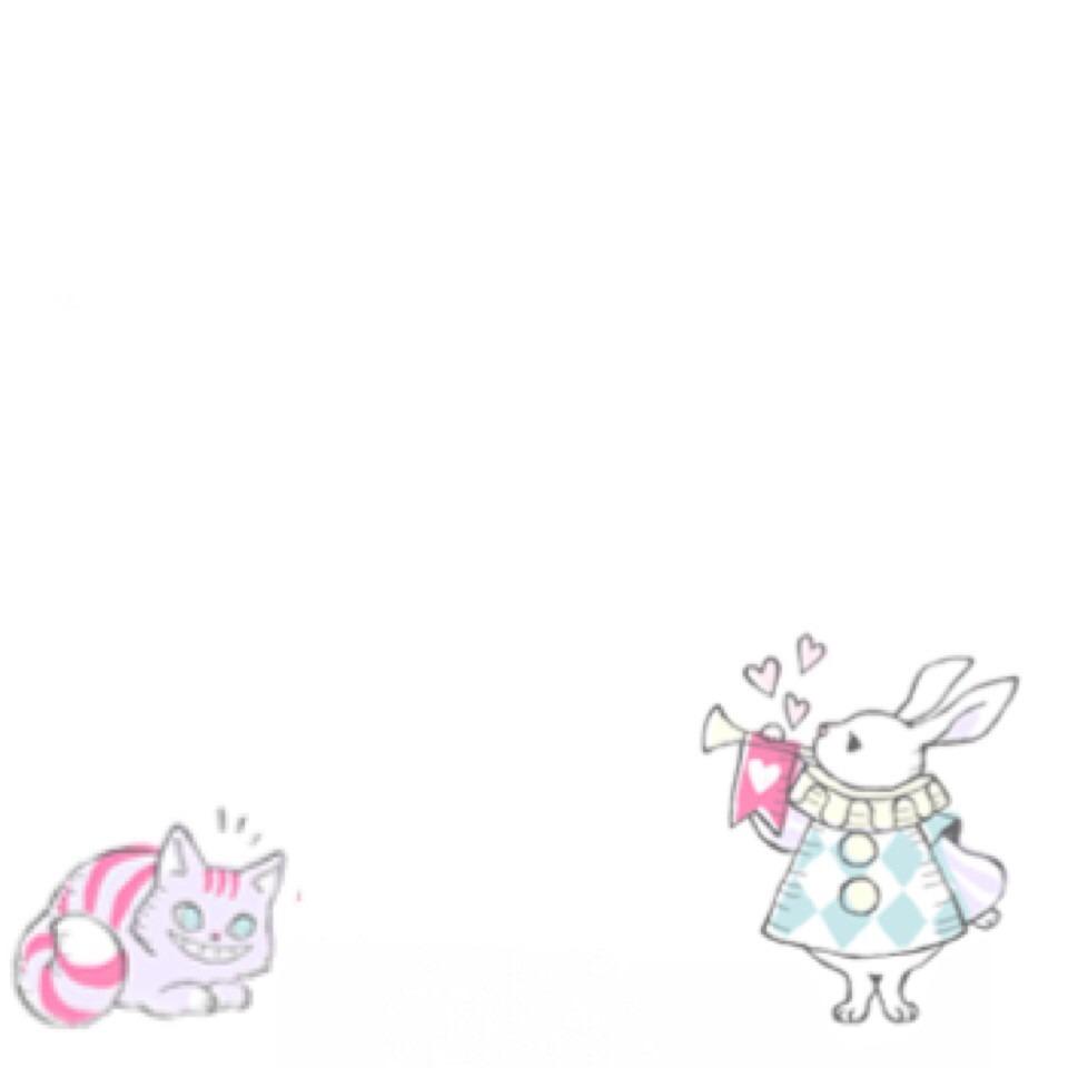 不思議の国のアリス チシャ猫 ウサギ[49241878]|完全無料画像検索の