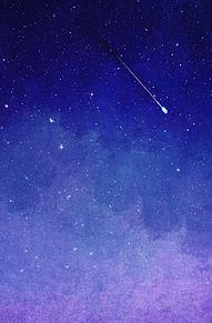 流れ星 プリ画像