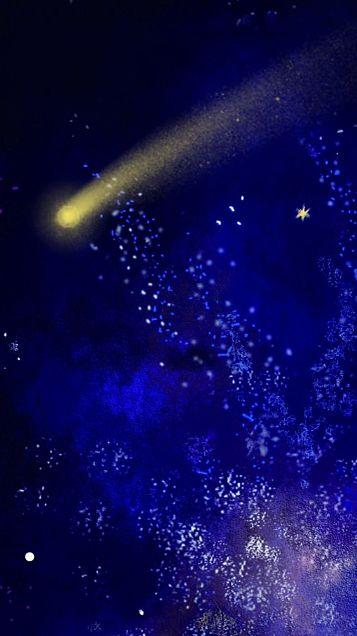 流れ星の画像(プリ画像)