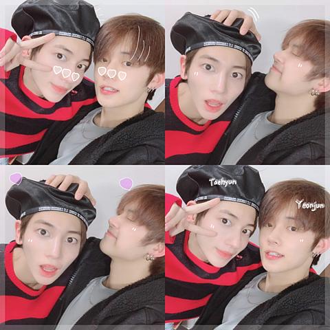 txt_taehyun yeonjunの画像(プリ画像)