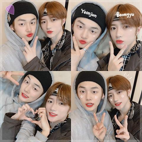 txt_yeonjun beomgyuの画像 プリ画像