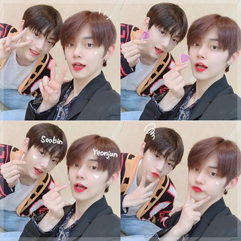 txt_soobin yeonjunの画像(プリ画像)
