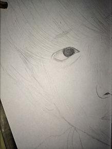 八木さんのイラスト(まだ途中) プリ画像