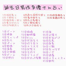 声優さん 誕生日占いの画像(江口拓也&小野友樹に関連した画像)