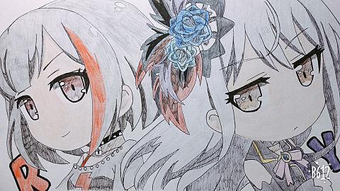 蘭&友希那の画像(プリ画像)