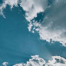 雲に隠れた太陽の画像(太陽に関連した画像)