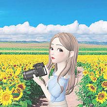 ひまわり畑🌻の画像(ひまわり畑に関連した画像)