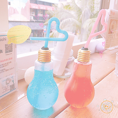 可愛い電球ソーダ.*・゚.*・゚の画像 プリ画像