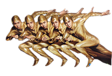 おっさん5人の画像(プリ画像)