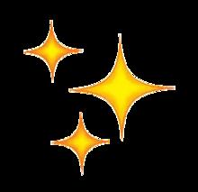 「キラキラ 絵文字」の画像検索結果