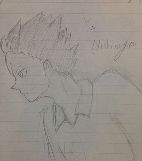 ノヤさんの横顔の画像(プリ画像)