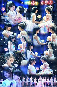 大島優子*卒業式の画像(プリ画像)