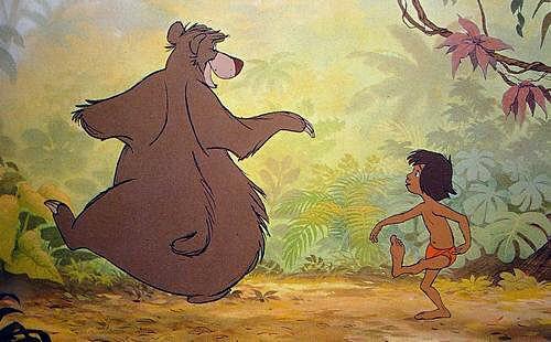 モーグリとクマ