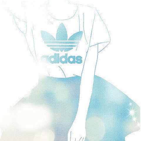 アディダス リクエスト 「夏っぽい」の画像(プリ画像)