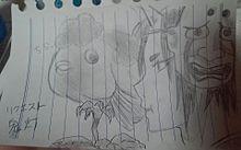 リアルの方でリク貰ったんで描いてみたのだよの画像(プリ画像)