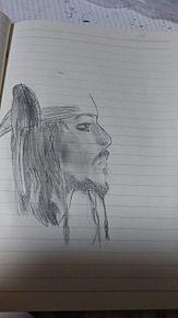 パイレーツオブカリビアンの雀船長描いてみたった プリ画像