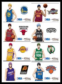 黒子のバスケ  NBAコラボの画像(プリ画像)