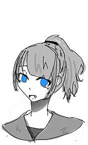 青い瞳の少女の画像(青い瞳に関連した画像)