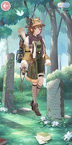 ミラクルニキトータルコーデ 少女探検家 プリ画像