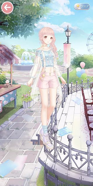 ミラクルニキトータルコーデ 初夏の心の画像 プリ画像