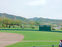 海 野球 庭園の画像(プリ画像)