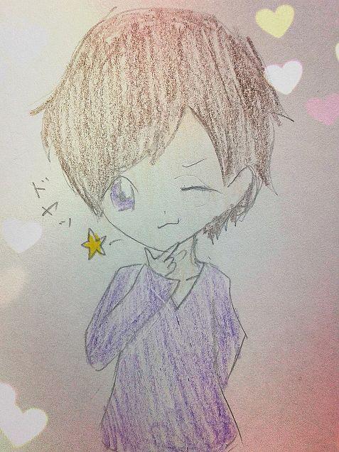 紫くんのドヤッ☆の画像(プリ画像)