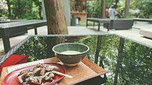 お抹茶、わらび餅の画像(気軽にに関連した画像)