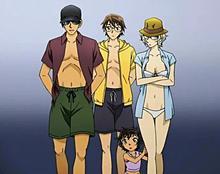 赤井秀一の家族  なんと新一は10年前に赤井秀一家族に会っていた プリ画像
